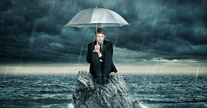 simpatia para parar com a chuva