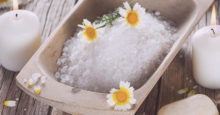 banho de sal grosso para descarrego