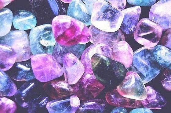 limpar e energizar cristais