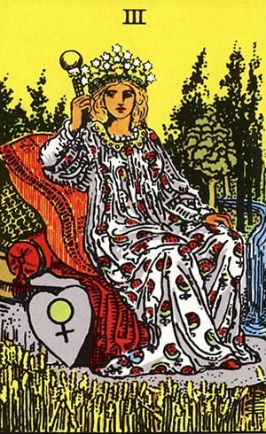 carta imperatriz no tarot