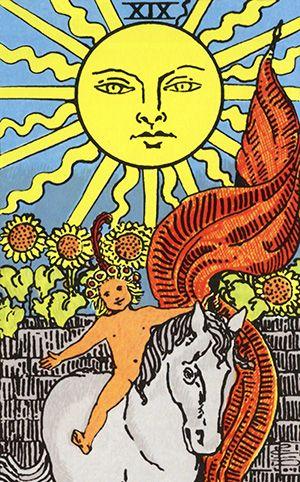 o sol no tarot