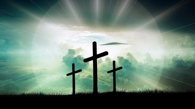 oracao estrela do ceu com imagem de cruz para imprimir