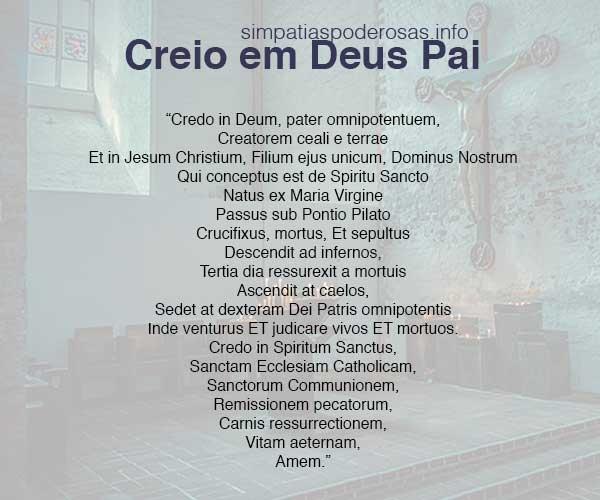 credo em latim