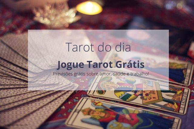 Tarot do dia Grátis - Tire uma carta