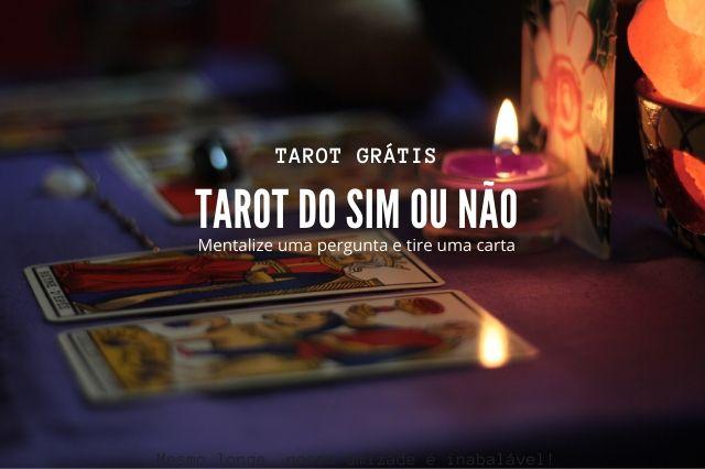 tarot sim ou não