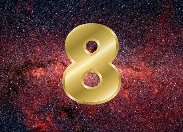 Número 8 na numerologia