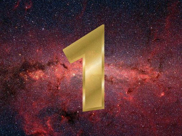 Número 1 na numerologia