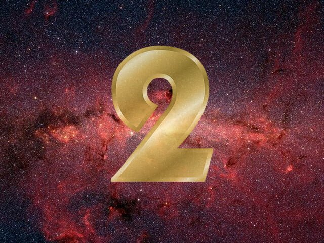 Número 2 na numerologia