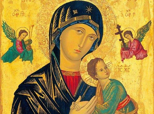 Oração de Nossa Senhora do Perpétuo socorro
