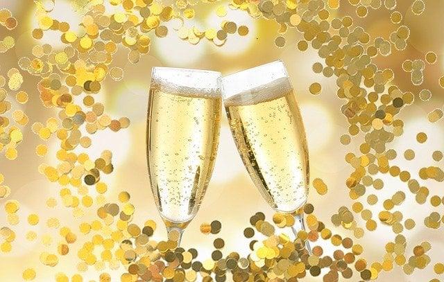 Banho de champagne