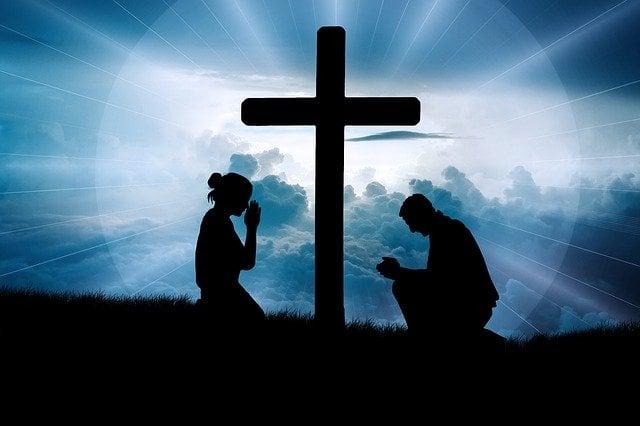 Oração de joelhos